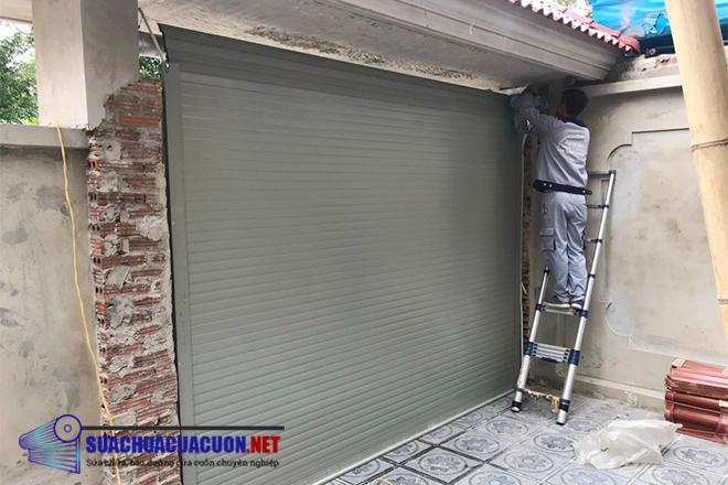 Sửa cửa cuốn tp HCM