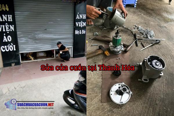 Sửa cửa cuốn tại Thanh Hóa