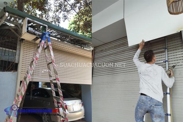 Sửa cửa cuốn tại Thái Nguyên