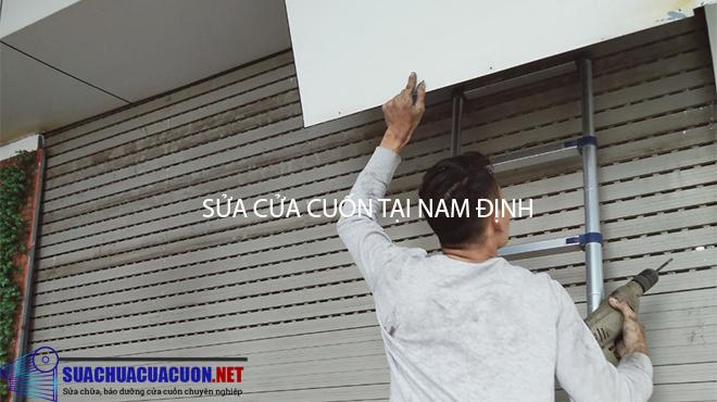 Sửa cửa cuốn tại Nam Định