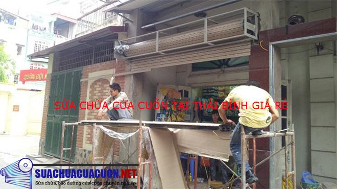Sửa chữa cửa cuốn tại Thái Bình Chuyên Nghiệp