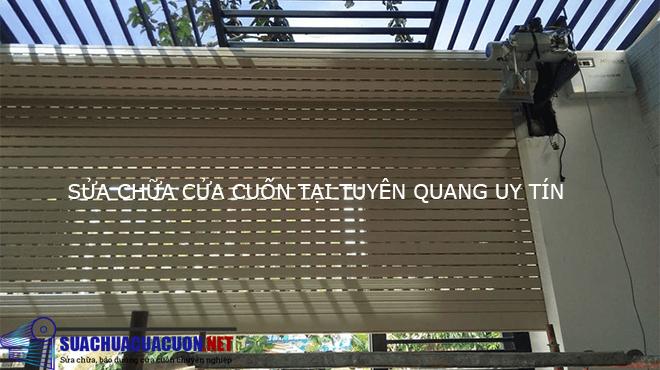 Sửa chữa cửa cuốn tại Tuyên Quang