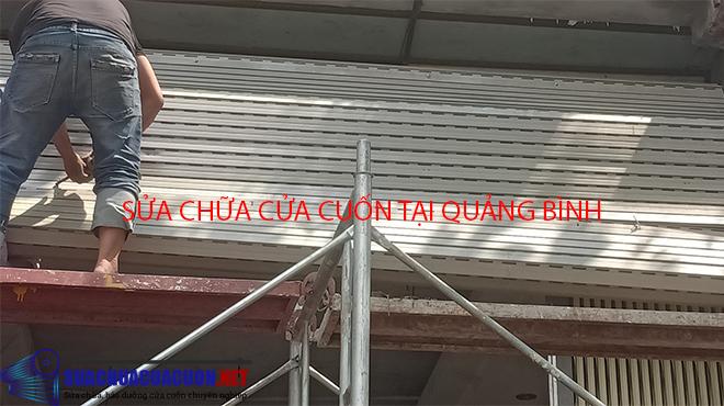 Sửa chữa cửa cuốn tại Quảng Bình
