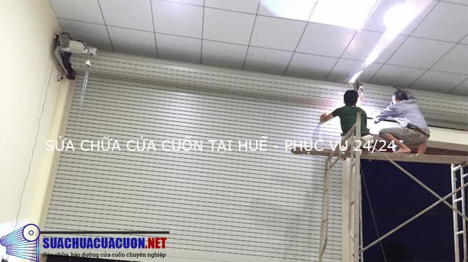 Sửa chữa cửa cuốn tại Huế