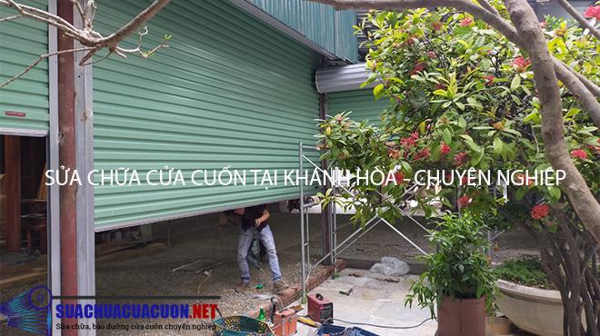 Sửa chữa cửa cuốn tại Khánh Hòa