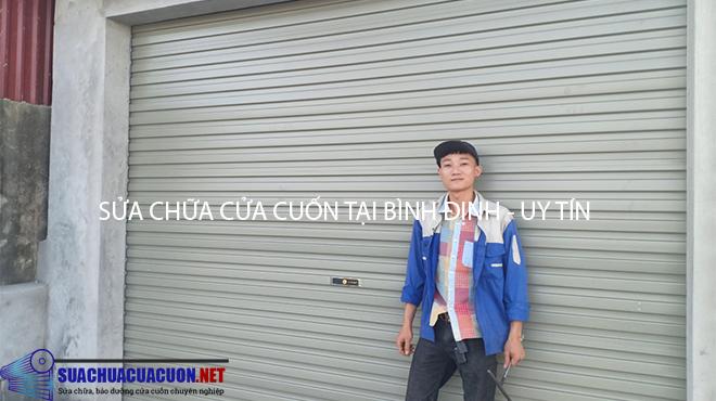 Sửa chữa cửa cuốn tại Bình Định