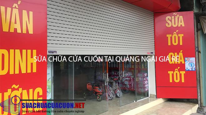 Sửa chữa cửa cuốn tại Quảng Ngãi